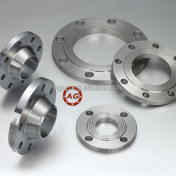 DIN/EN1092-1 standard S235/C22.8/P245GH/P235GH/S355 High quality Welding neck socket pipe flange