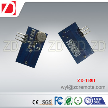 ZD-TB01 433MHZ 315MHZ long working range wireless transmitter module