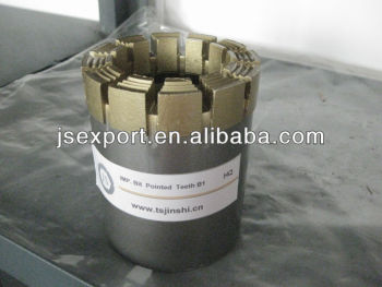 HQ impregnated diamond core drill bit