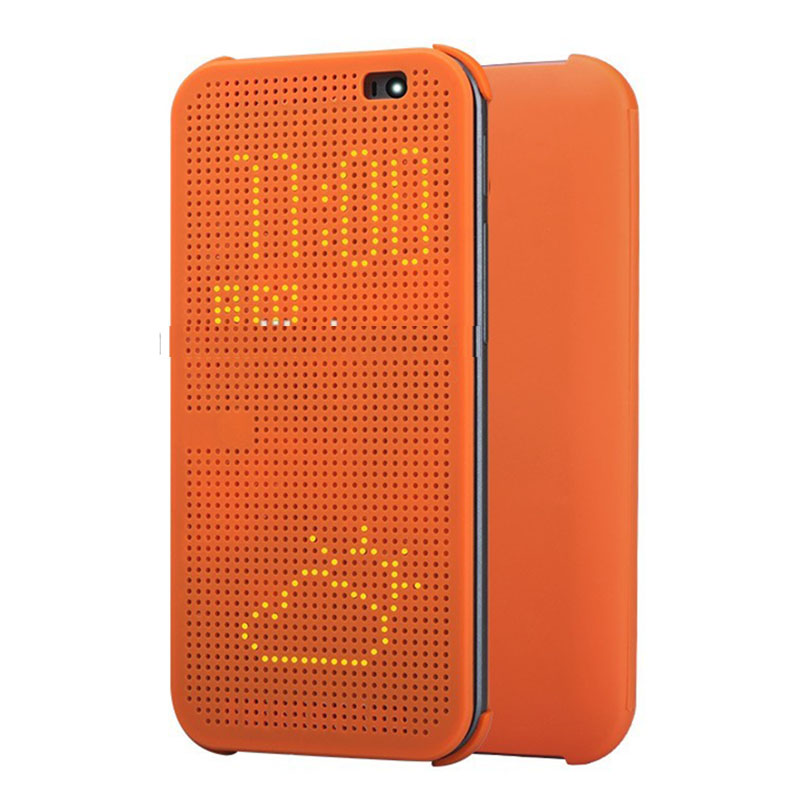 For htc one m8 dot view case,smart flip cover for htc m8 cases
