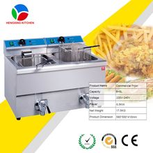 Double Basket Peanut Fryer/Table Top Deep Fryer/Chip Fryer China Supplier