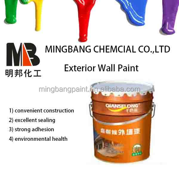 Hot sale all weather water based exterior wall paints