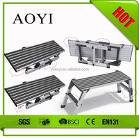 AY used for home or industrial aluminum platform ladder