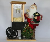 XM-CH1554 20 inch indoor lighted santa claus for christmas home decoration items
