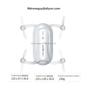 2018 latest Dobby pocket folded Face recognition rc selfie mini drone with hd camera and gps drone with wifi FPV camera
