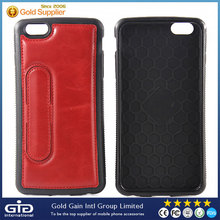 Functional Leather Cover For iPhone 6 Plus Case With Card Holder