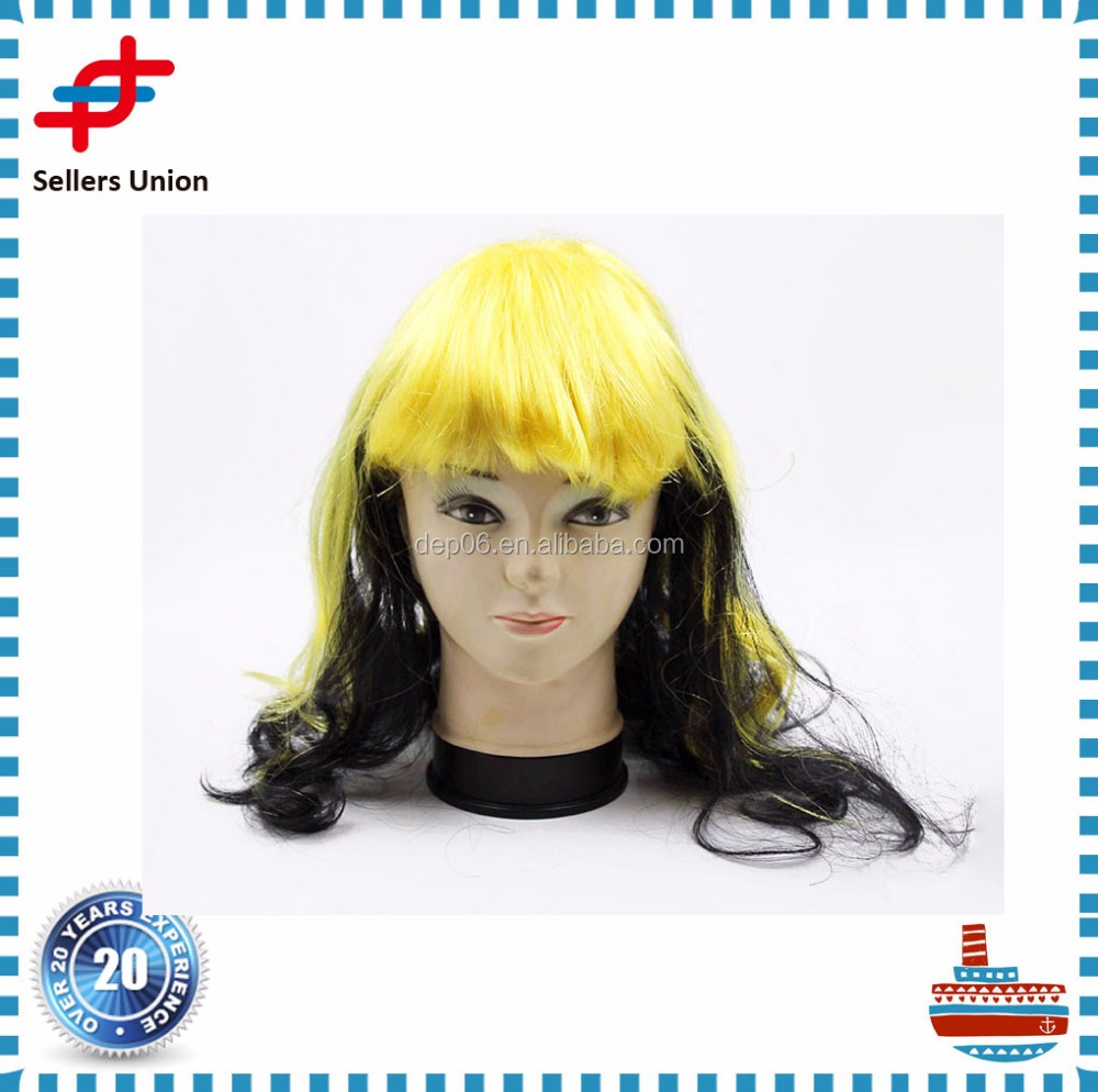 Cheap Price Halloween cosplay anime wigs for Ladies