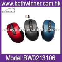 bluetooth 2.0 interface wireless mouse with nano receiver ro 32