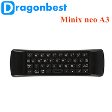 Minix neo A3 lite Wireless air mouse 4k android iptv arabic tv box Air Mouse Sold on Alibaba Keyboard with Voice