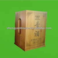 Quality best sell wooden donation box
