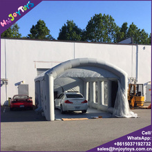 Open Face Commercial Used Mobile Portable Inflatable Car Paint Spray Booth Tent for Sale