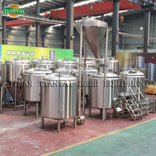 15bbl porter beer brewery plant with grist case