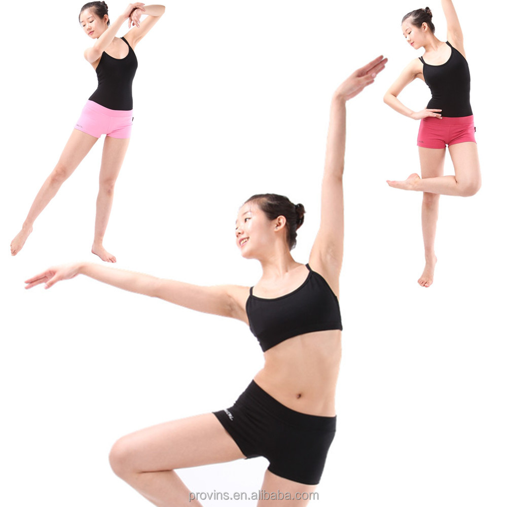 Hot Sale Professional Dance Yoga Sports Shorts Girls