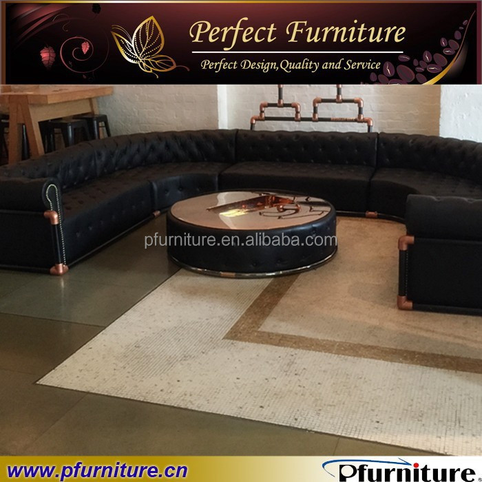 PFS3362C soft <strong>U</strong> shape Italian leather sofa furniture