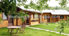 2017 New Design 50 M2 Wooden House Log cabin for Sale