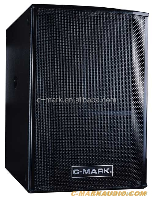 C-MARK 18 inch subwoofer box AT18A active speaker 950W RMS