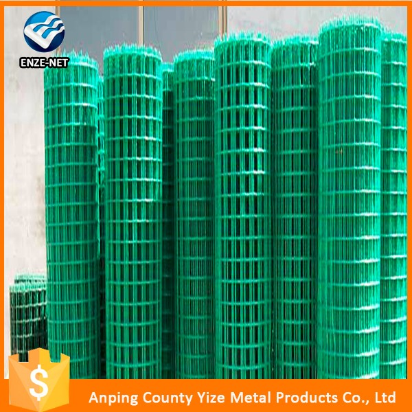 China Manufacturer new mink cage/stockyard/animal cage pvc coated galvanized welded wire mesh