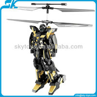 !2.5 channel robot helicopter Rc toy robot kit helicopter with gyro rc robots sale