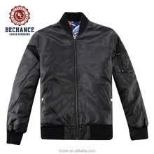 cheap custom-made man reversible bomber leather jacket