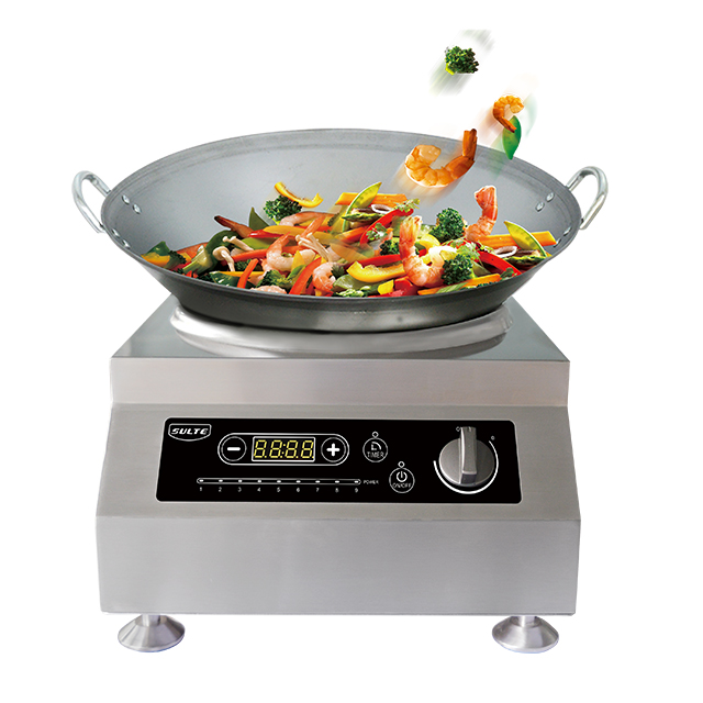 Fry Chinese Food Kitchen Appliances 5kW Wok Induction Cooker Cooking, View  Wok Induction Cooker, SULTE Product Details From Foshan Shunde Sulte  Electronics ...