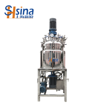 Factory Outlets Stainless Steel Automatic steam heating mixing tank , Vacuum Emulsifying Machine