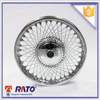 Cheap and fine new design front motorcycle wheel for 70cc