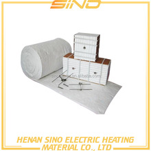 High quality fire-resistant ceramic fiber module with refractory anchors