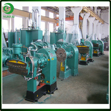 China Cheap Extruder Model XJ-115 Hot Feed Rubber Extruder Machine For Rubber Extruding