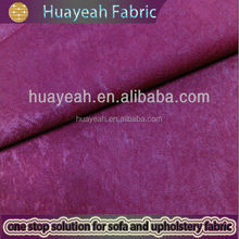 2012 high red quality check ripstop velour sofa fabric