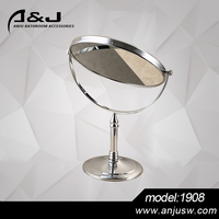 Transparent Double Side Mirror With Stand Makeup Double Side Table Mirror Vanity Mirror