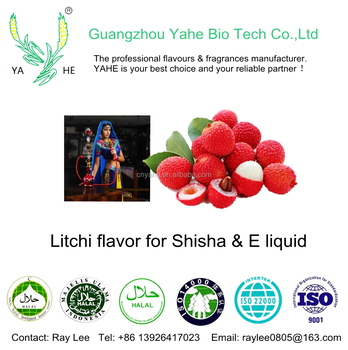 2018 wholesale Shisha flavour tobacco liquid with Litchi flavours for Hookah Nargile Argileh and vape juice with factory price