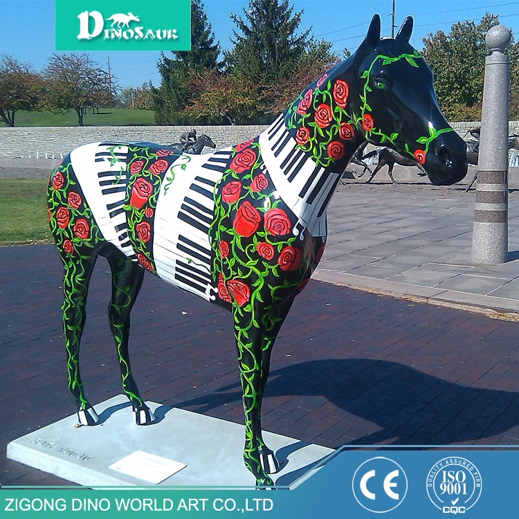 Outdoor Decoration Statue Resin Realistic Animal