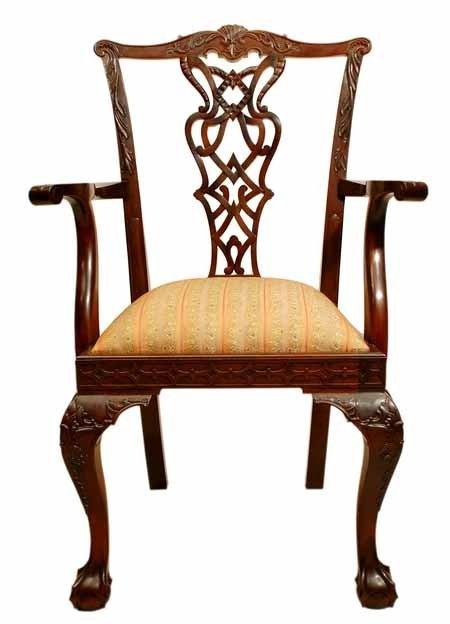 Chippendale sill n sillas de comedor identificaci n del - Sillas chippendale ...