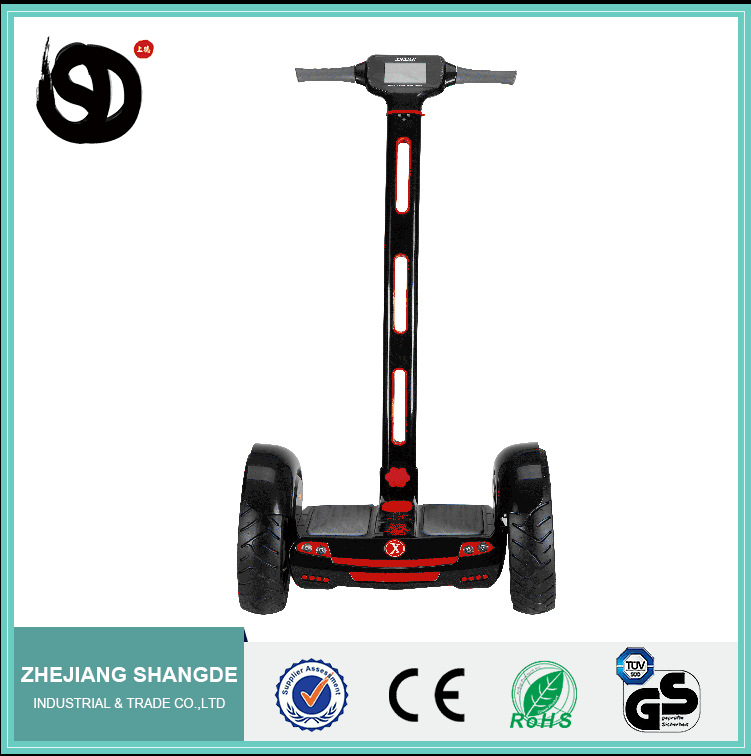 2016 hot sale Hoverboard CE Certification two wheel electric chariot self-balance scooter with handlebar