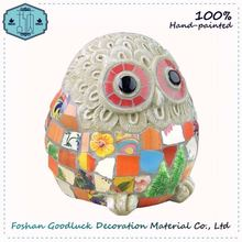 Hand Draw Outdoor Wholesale Decoraions Stone Garden Ornaments Owl
