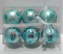 Wholesale Christmas Color Ball Sphere Garden Ornament Hollow Balls