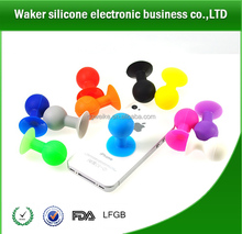 2014 Manufacture ball sucker Phone Holder /silicone ball shape cell phone holder
