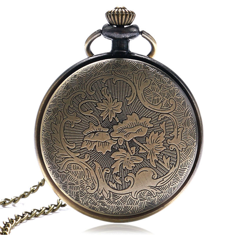 Large Vintage Pocket Watch Classic Roman Numerals Dial Slim Necklace Simple Nurse Watches Perfect Gifts for Family Friends Xmas (4)