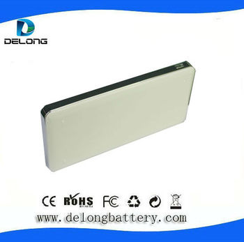 high capacity mobile lithium polymer power bank