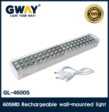 60 SMD LED lithhium battery rechargeable emergency light