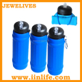 2015 Promotional BPA free kids silicone water bottle