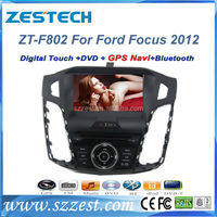 "ZESTECH gps dvd player radio 8"" car gps navigation for Ford Focus 2012 car gps navigation with dvd"