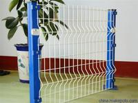 galvanized sheet metal fencing,metal fence panel,coated fence panel(ISO SGS FACTORY)