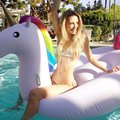 Best selling Giant inflatable unicorn pool toys Float swimming pool for adults and kids