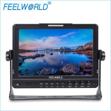 10.1 inch lcd screen ips panel image freeze custom color temperature 3G-SDI HDMI input video monitor camera