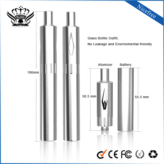 Best selling original buddy china wholesale 510 atomizer no flame e-cigarette cartridge