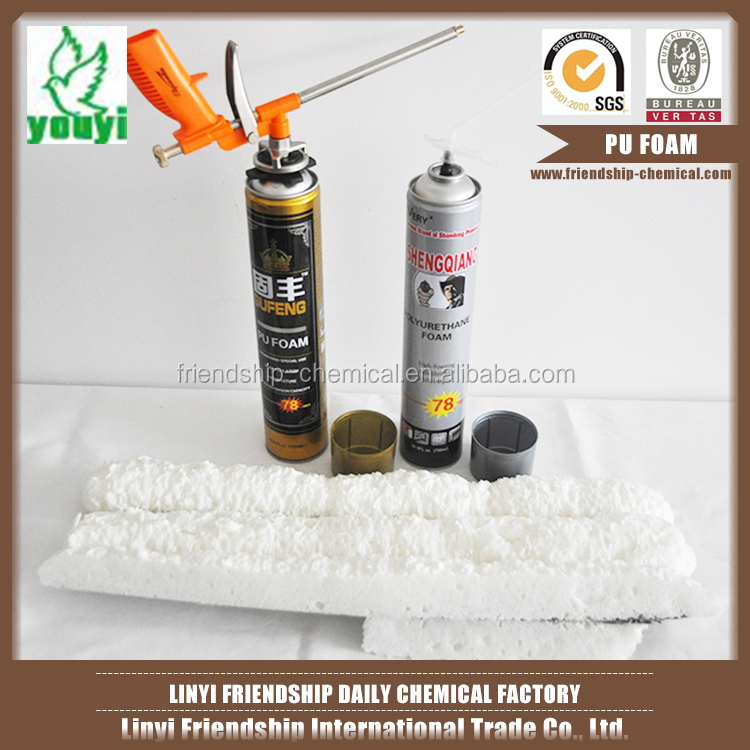 Factory directly sale new designs expanding spray pu foam sealant