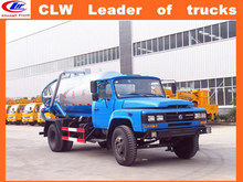 used sewage suction tanker truck RHD septic tank truck LHD sludge suction truck 6 wheeler sewage tankers for sale