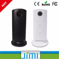Jimi Wild Angle Viewing Angle Live Webcam World Streaming Webcam Ip Cam Wifi With Led Street Light JH08