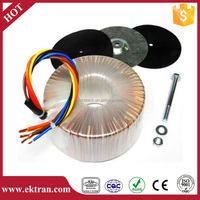 Single phase constant voltage step up electricity transformer